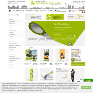 WerbeCenter Berlin - Top Preis+Leistung seit 1996 - Druckerei