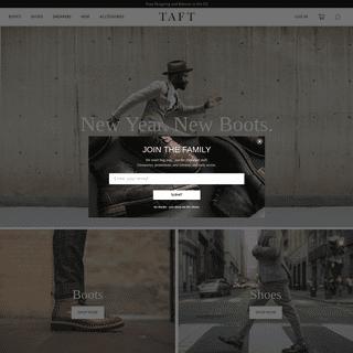 Taft Men's Boots & Shoes – TAFT