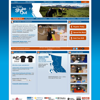 ArchiveBay.com - shakeoutbc.ca - The Great British Columbia ShakeOut - Get Ready!