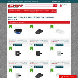Electrical Supplies & Wholesale - Schnap Electric Products