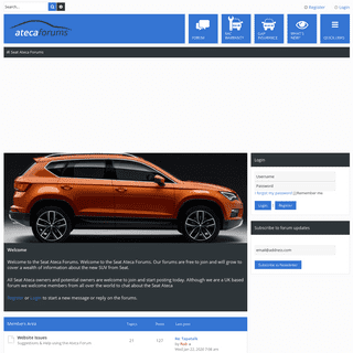 ArchiveBay.com - atecaforums.co.uk - Seat Ateca Forums - Forum for all Seat Ateca Owners