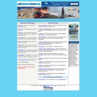 Point Pleasant Beach NJ Shore Visitors Guide Town Information