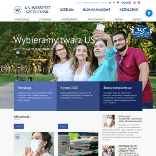 Uniwersytet Szczeciński - Jeden Uniwersytet wiele możliwości