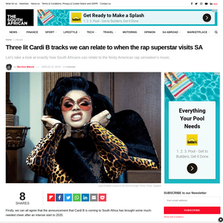 ArchiveBay.com - www.thesouthafrican.com/lifestyle/cardi-b-rapper-tracks-sa-can-relate-to-2020/ - Three lit Cardi B tracks we can relate to when the rap superstar visits SA