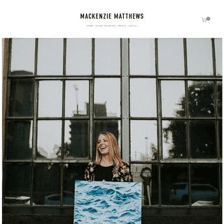 Mackenzie Matthews