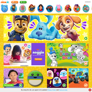 Preschool Games, Nick Jr. Show Full Episodes, Video Clips on Nick Jr.