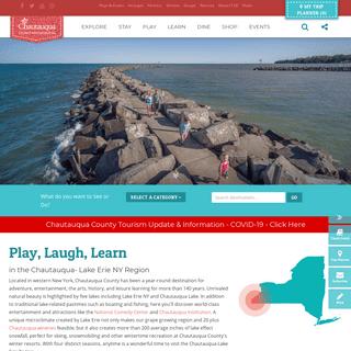 Chautauqua County NY & Western NY Attractions - Chautauqua County Visitors Bureau