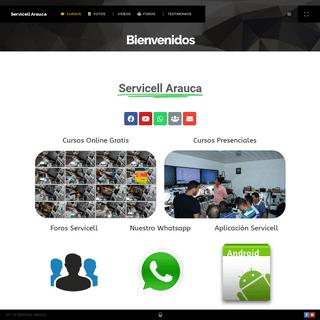 Servicell Arauca – Cursos Online y Presenciales de iPhone y Samsung