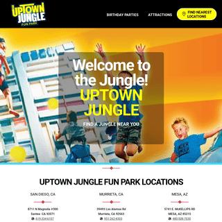 -- Uptown Jungle Fun Park - Indoor Kids' Birthday Party Playground