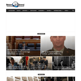 Noticiero Universal - Noticias en Tiempo Real