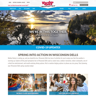Official Site For Wisconsin Dells - Deals & Information - WisDells