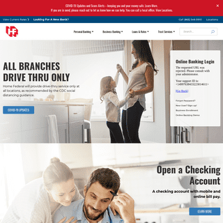 Personal Banking - Home Federal Bank of Tennessee
