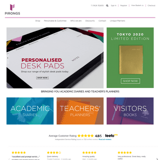 Pirongs - Academic Diaries and Teacher Planners