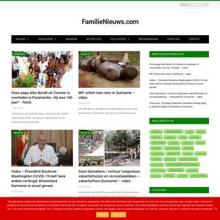 Familieberichten, Verhalen, Nieuws uit Suriname en Nederland