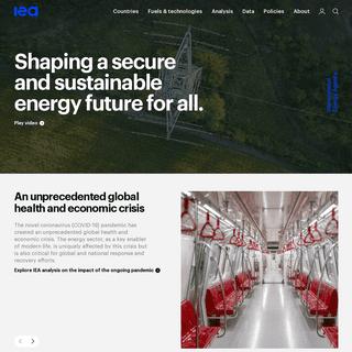 IEA –International Energy Agency