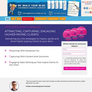 ArchiveBay.com - webuildyourblog.com - We Build Your Blog- How to make a blog and a blog income