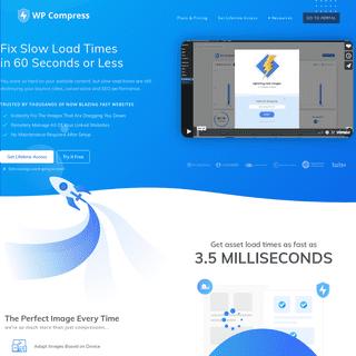 The #1 image optimizer for WordPress Agencies - WP Compress