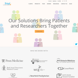 ArchiveBay.com - trialx.com - TrialX - TrialX - The Patient Connection. Solutions to Connect Patients to Clinical Research.