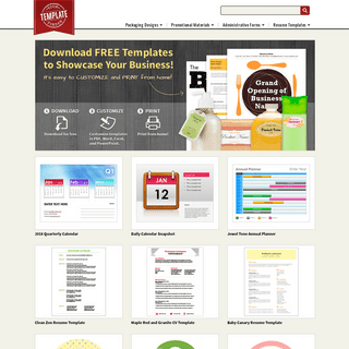 Find printable and customizable solutions for your business - YourTemplateFinder