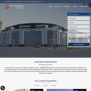 Al – Adekhar Real Estate Co – Real Estate Co