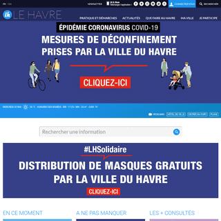 Site officiel de la Ville du Havre – Le Havre