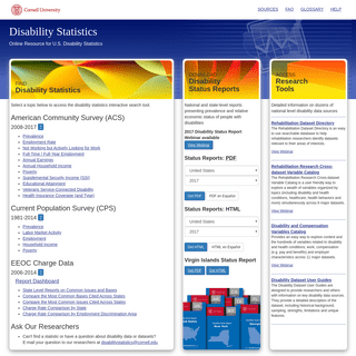 ArchiveBay.com - disabilitystatistics.org - Disability Statistics