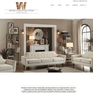 Home - Weeks Furniture Store