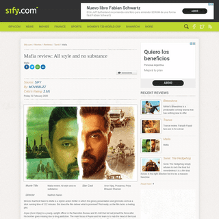 ArchiveBay.com - www.sify.com/movies/mafia-review-all-style-and-no-substance--review-tamil-ucvh1xfbibadg.html - Mafia review- All style and no substance