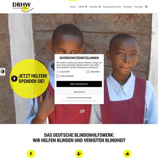 Deutsches Blindenhilfswerk e.V. (DBHW) – Hilfe für Blinde