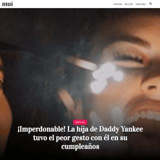 ¡Imperdonable! La hija de Daddy Yankee tuvo el peor gesto con él en su cumpleaños - MUI