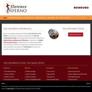 ArchiveBay.com - florenceinferno.com - Florence Inferno- Dan Brown's Book Places, Symbols & Tours