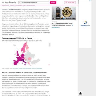 Coronavirus- Sorge um deutsche Wirtschaft – Dax verliert dramatisch