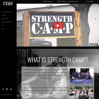 Strength Camp - Become The Strongest Version of Yourself