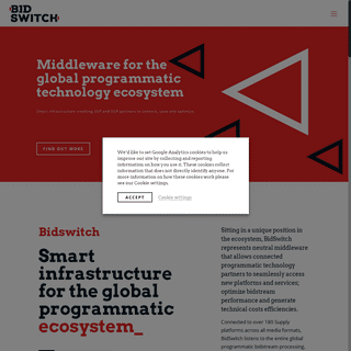 BidSwitch - Smart Infrastructure For The Global Programmatic Ecosystem