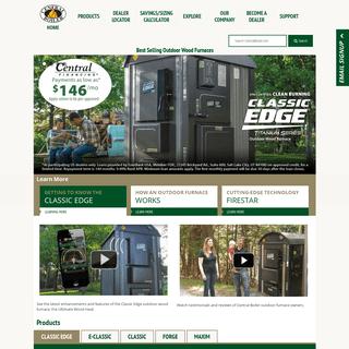 Best Outdoor Wood Furnace - Central Boiler