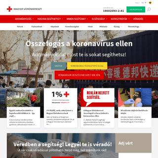 Magyar Vöröskereszt - Magyar Vöröskereszt, Hungarian Red Cross