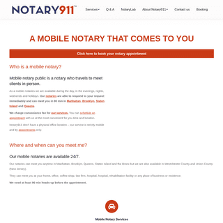 ArchiveBay.com - notary911.org - Mobile Notary And Apostille Service In New York City