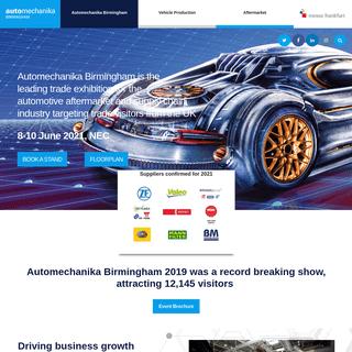 Automechanika Birmingham - Automechanika Birmingham 2019