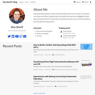 Max Woolf's Blog