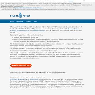 ArchiveBay.com - poundstopocket.co.uk - Pounds to Pocket - Official Site - Short Term Unsecured Loans