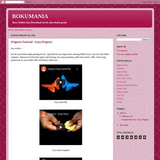 A complete backup of bookumania.blogspot.com