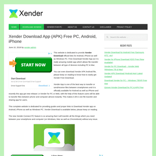 Xender Download App (APK) Free PC, Android, iPhone