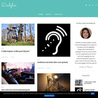 Dailylin - Een kijkje in het dagelijks leven van Linda