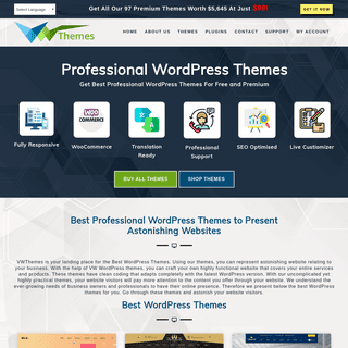WP Themes - Best Professional WordPress Themes and Templates