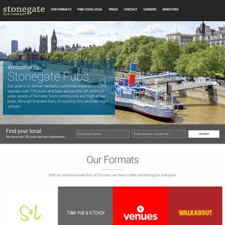 Home - Stonegate Corporate Site