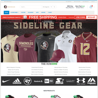 FSUNewSeason.Com - Your Shop For FSU Jerseys, Hats, T-Shirts And Other Apparel