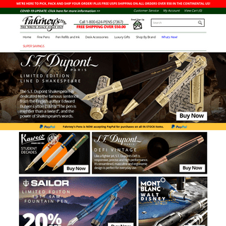 Fahrney's Pens - Pens and Luxury Gifts Since 1929!