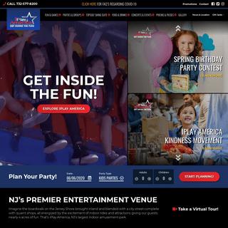 ArchiveBay.com - iplayamerica.com - Home - iPlay America - NJ's Premier Indoor Amusement Park