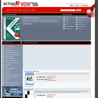 Actual Download - WOW! Download NOW! - Any Software Downloads