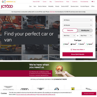 JCT600 – Car dealers trusted by the world's best manufacturers